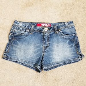 Bongo | Slightly Distressed Jean Shorts